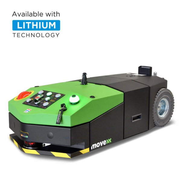 AGV-Basic automated guided vehicle electric tug lithium