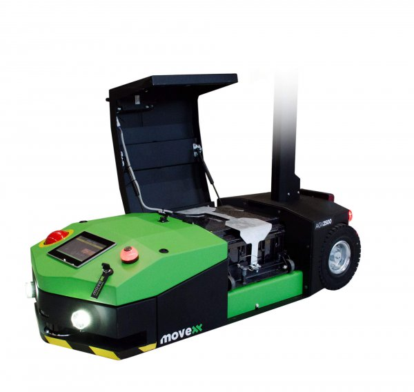 AGV2500 automated guided vehicle electric tug open