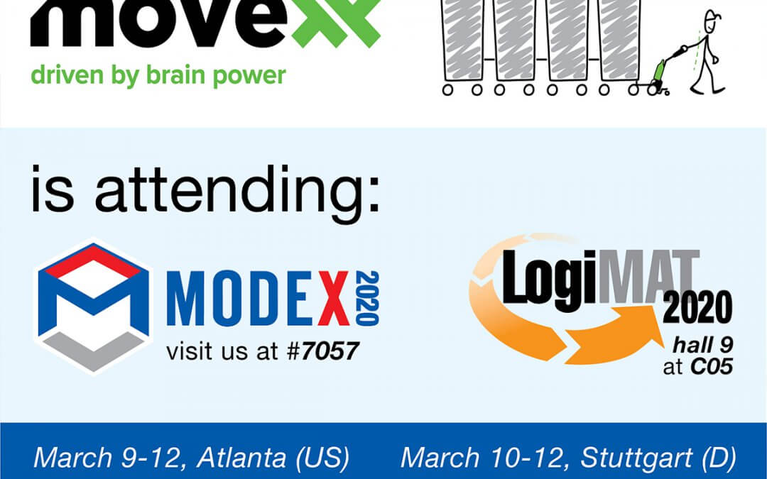 Movexx will attend Modex (US) and LogiMAT (D)!