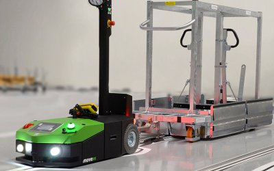 The Future of Retail Is Automated Guided Vehicles